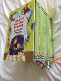 Usborne very first reading books