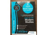 Model papers for Modern Studies (Higher)