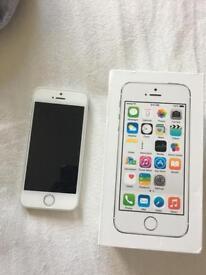 Iphone 5s silver unlocked 16gb
