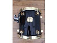Yamaha Maple Custom 10x10 Tom with Gold Plated Hoops