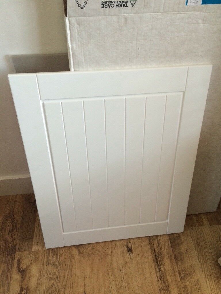 WICKES *NEW & BOXED* EDMONTON 1000mm DOUBLE BASE UNIT WITH WHITE DOORS