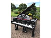 Ibac Black baby grand piano | Belfast pianos |Free Delivery