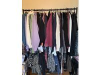 4 Foot 2 Tier Heavy Duty Clothes Rail