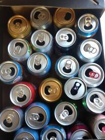 **FREE** Empty drinks cans