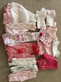 0-3 month girl baby bundle