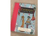 Fashion colouring book designer adults