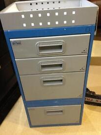 Tevo tool storage drawers van workshop