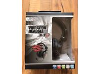 Vibration Headset XT (PS4/Xbox360/PS3/Mac/PC DVD) ,brand new & sealed ! price stands , no offers !