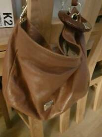 Brown Soft Leather handbag