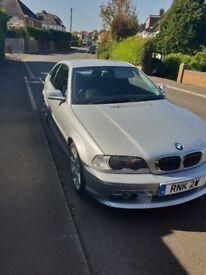BMW E46 2.8 petrol manual.
