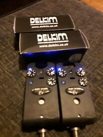 "Delkim Ev alarms and fox 60"" brolly system"