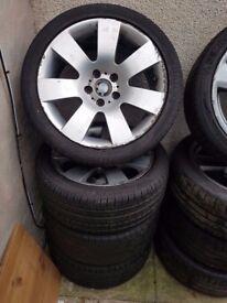 Bmw Genuine 123 18'' E90 E91 E92 E60 E61 Alloy Wheels Can Sell Single Can Post Part Exchange Welcome