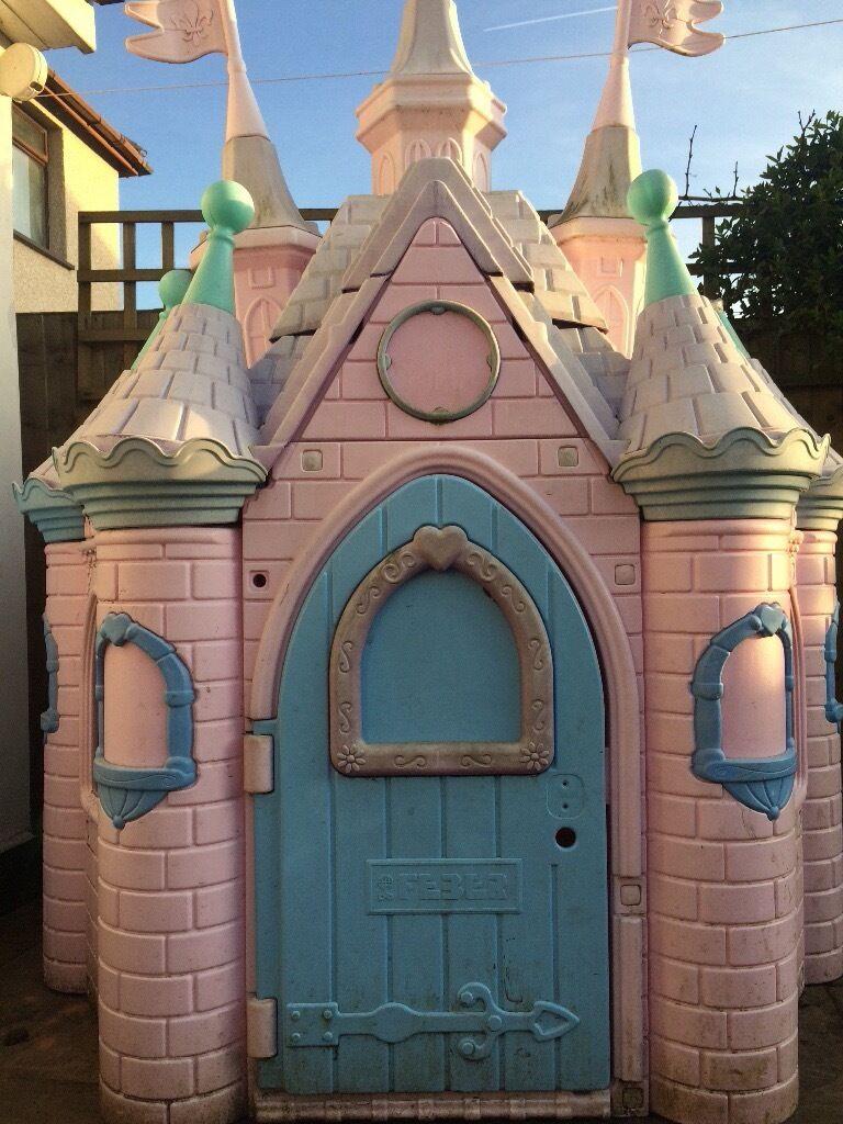 disney princess castle outdoor playhouse outdoor designs