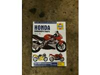 Honda cbr 600 Haynes manual