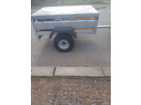 erde 143 tipping trailer ideal tent camping tip runs.like new condition
