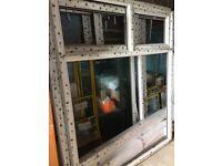 PVC Windows with Glass - Redundant Job Lot