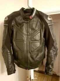 Dainese jacket lather size 52