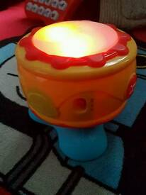 Sainsbury's light up musical toy drum