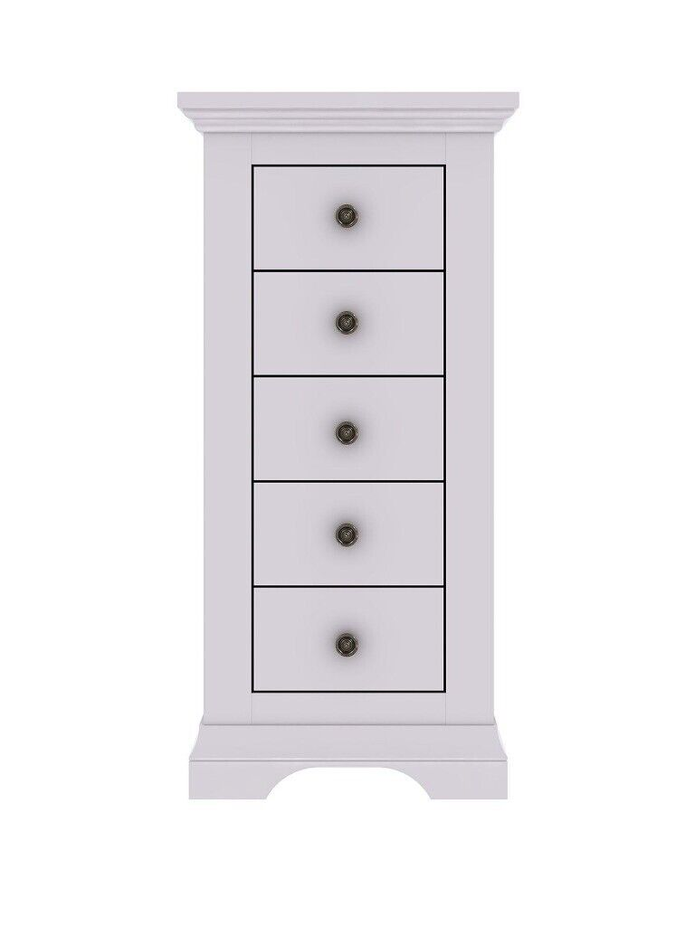 Normandy 5 Drawer Narrow Chest Grey Brand New Boxed In Rusholme Manchester Gumtree