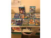 Nintendo Wii u for sale with over 12 games