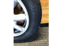 Mini Cooper spare wheel with new tyre