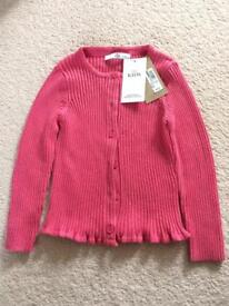 M&S pink cardigan