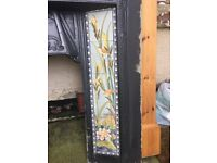 Victorian Cast Iron Fire surround with tiled insert