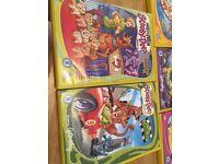 15 Scooby Doo DVDs