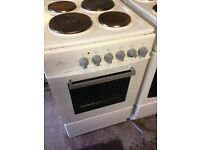 White electric ring cooker 50cm...free delivery