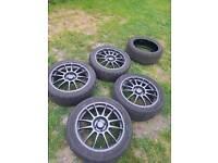 oz alloy magnesium wheels 17inc