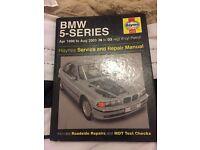 BMW 5 series Haynes service and repair manual 96-03