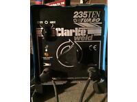 Clarke 235 ten turbo stick welder