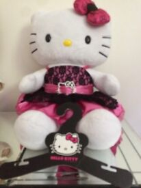 Build a bear workshop hello kitty teddy with matching dress