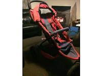 Phil & Teds buggy with extras