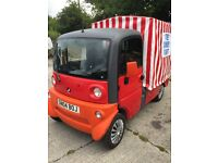 Aixam 500 mega van, sweet van, candy vending business multi purpose van