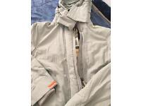 Superdry brand new Sliver Grey Jacket (the windcheater )
