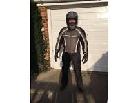 Motorbike PPE Full set ready to get up and go.
