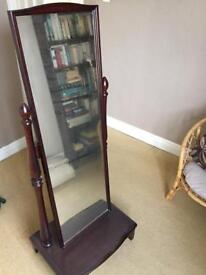 £40 STAG CHEVAL MIRROR