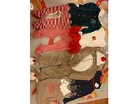 Christmas clothes bundle 12-18 months
