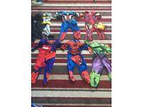 Boys - 3-4 yrs superhero costumes