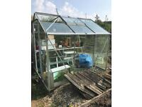 *FREE* Greenhouse 6ft x8ft