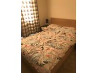 Double Bed with 4 Storage Drawers - IKEA Malm