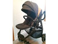 Graco Evo XT baby travel system available with car seat and iso fix