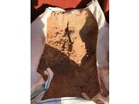 FREE building sand approx 1/2 a ton bag