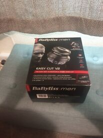 BaByliss For MEN Easy Cut V2 USED ONCE NEW CONDITION AND FULLY WORKING