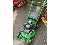 John Deere petrol lawnmower