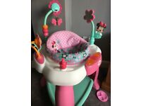 Minnie mouse baby sit in activity centre