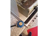 Camping gas cooker and grill