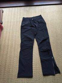 FORCLAZ 900 - WARM, LINED, WIND RESISTANT TROUSERS - WOMANS SIZE 10