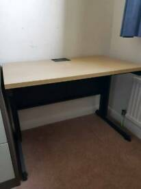 Solid & extremely sturdy metal desk